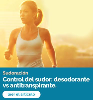 Control del sudor: desodorante vs antitranspirante